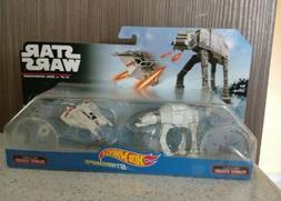 Hot Wheels Star Wars Starships 2 pack - AT-AT vs Snowspeeder