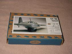 Testors HSO 1:48 Me-163 Komet Plastic Aircraft Model Kit # 7