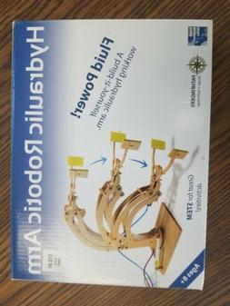 Hydraulic Robotic Arm Pathfinders Wood Construction Model Ki