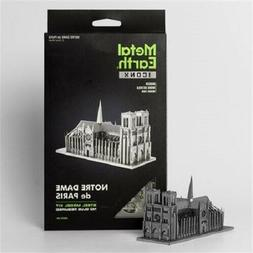 Fascinations ICONX NOTRE DAME de PARIS 3D Steel DIY Metal Ea