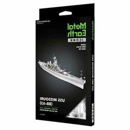 iconx uss missouri bb 63 3d laser