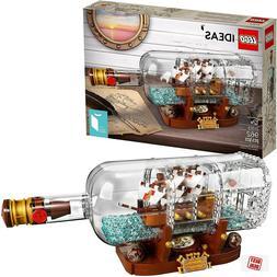 LEGO Ideas Ship in a Bottle 21313 Expert Building Kit Model