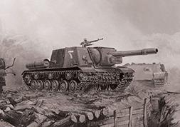 Zvezda Models ISU-152 Soviet Tank Destroyer Snap Fit Model