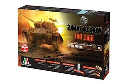 Italeri 36504 World of Tanks WoT M24 Chaffee Tank Plastic Mo