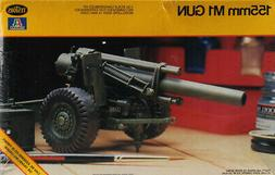 Testors Italeri 1:35 155mm M1 Gun Plastic Model Kit #783