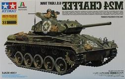 Tamiya Italeri 1:35 US Light Tank M24 Chaffee Plastic Model