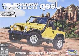 Revell Jeep Wrangler Rubicon 1:25 scale model car kit new 45