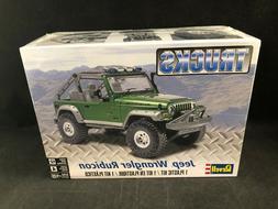 jeep wrangler rubicon 1 25 scale plastic