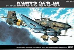 """Academy JU87G-1 Stuka """"Tank Buster"""" Model Kit 12450"""
