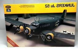 Testors Junkers Ju 52 1:72 Scale Plastic Model Kit No. 869