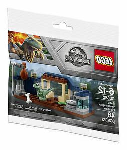 LEGO Jurassic World Baby Velociraptor Playpen  Bagged