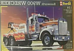 kenworth w900 wrecker 1 24 scale tow
