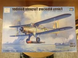 KHS - 1/48 TRUMPETER MODEL KIT #02880 FAIREY ALBACORE TORPED