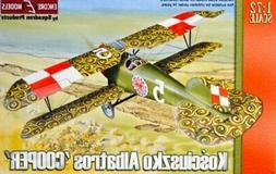 kosciuszko albatros cooper 1 72 plastic aircraft