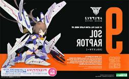 Kotobukiya KP475 Megami Device Sol Raptor Figure Model Kit U