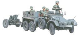 Tamiya Models Krupp Protze Towing Truck with 37mm Pak Model