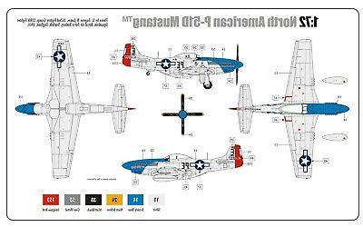 Airfix 01004A P-51D Scale Plastic Kit