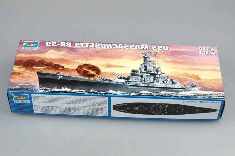 Trumpeter 05761 Massachusetts Static Warship Kit
