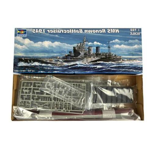 Trumpeter 05765 HMS Renown 1945 Model Kit Warship