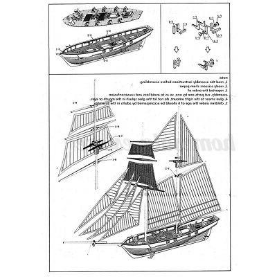 1:100 Scale Ship Kit Decoration DIY Toy Gift