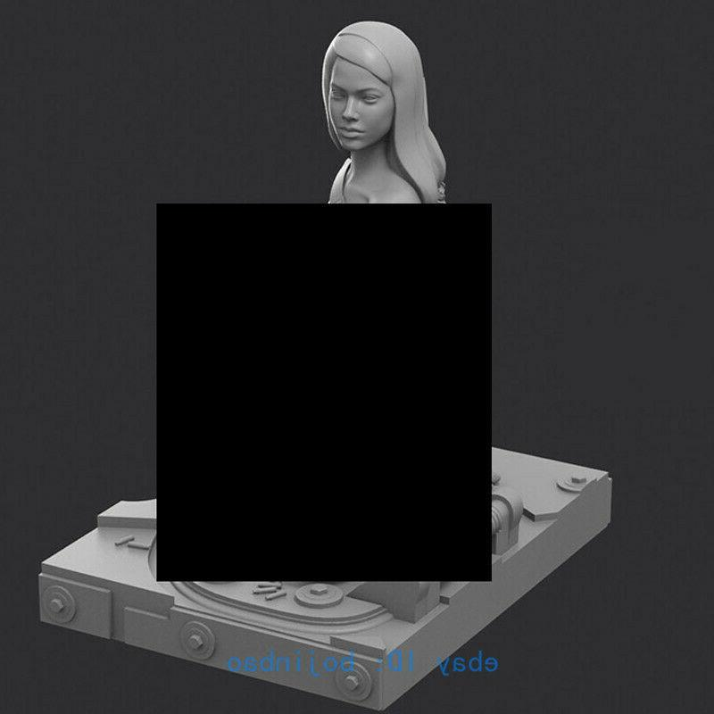1/16 120mm Unpainted Model Kits Modern Female Sexy Resin New