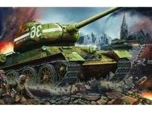 Trumpeter 1/16 Russian T34/85 Mod 1944 Factory Nr.183 Late T