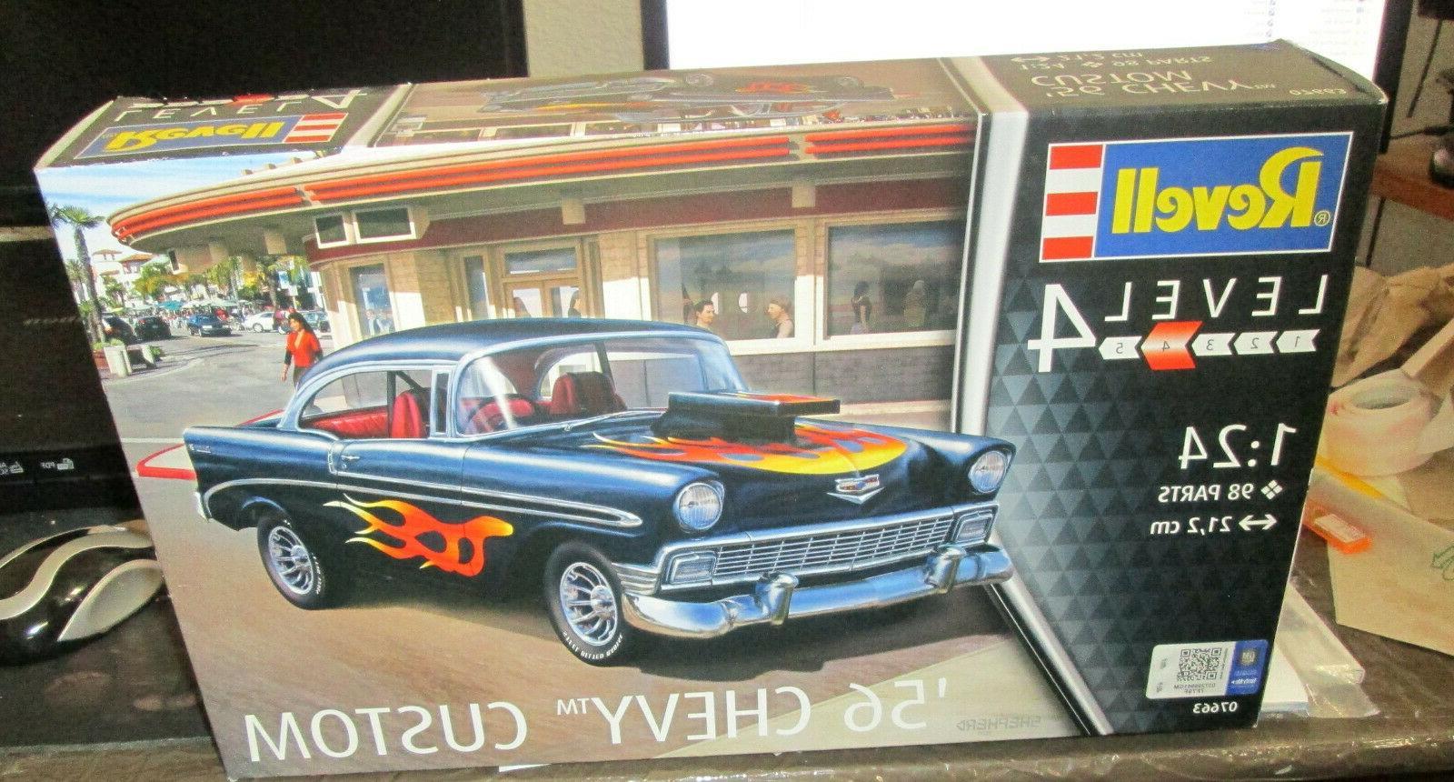 1 24 1956 chevy custom model kit