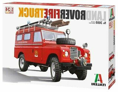 1 24 land rover fire truck plastic