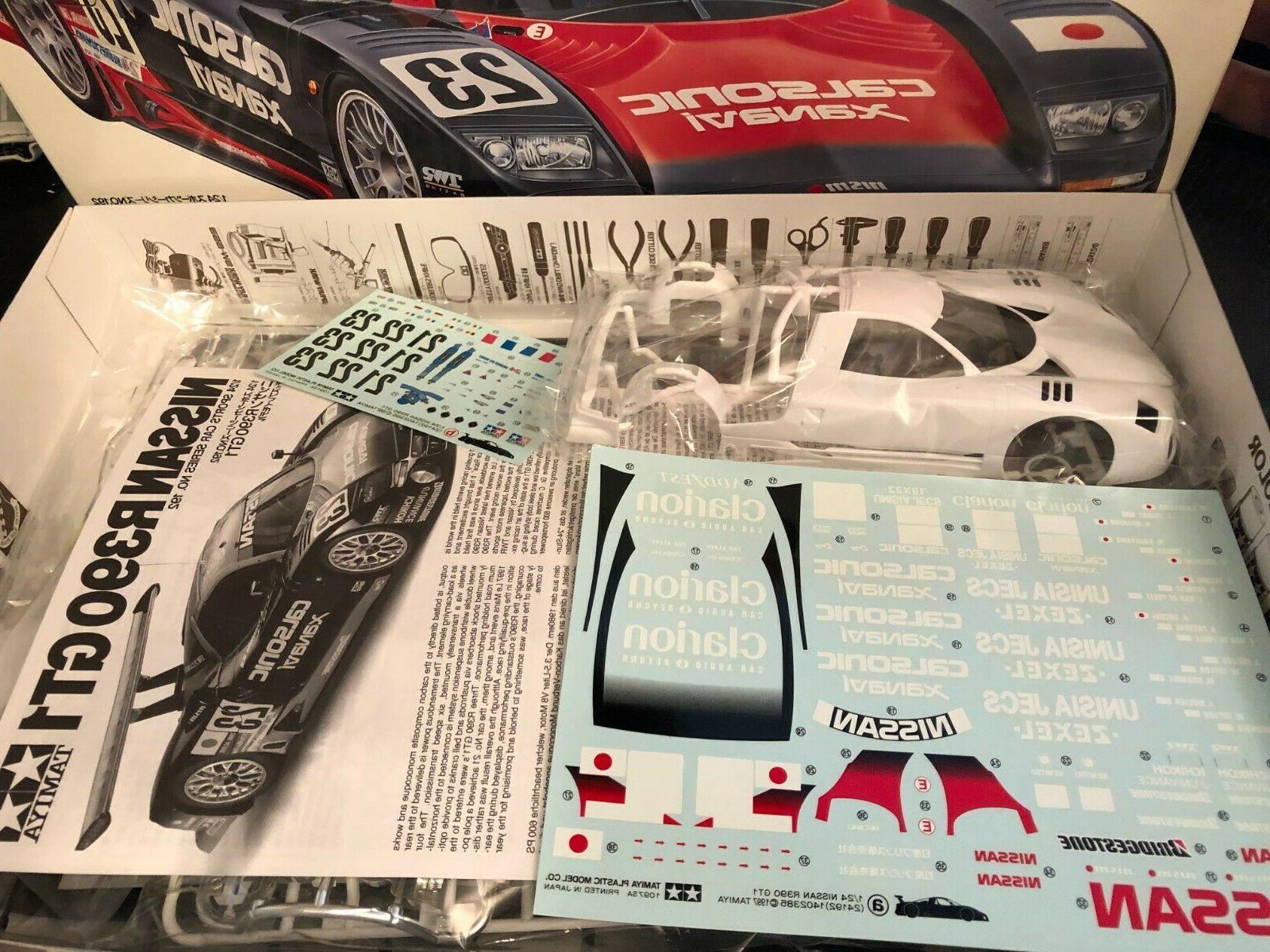 Tamiya 1/24 Nissan Gt1 Model # 24192