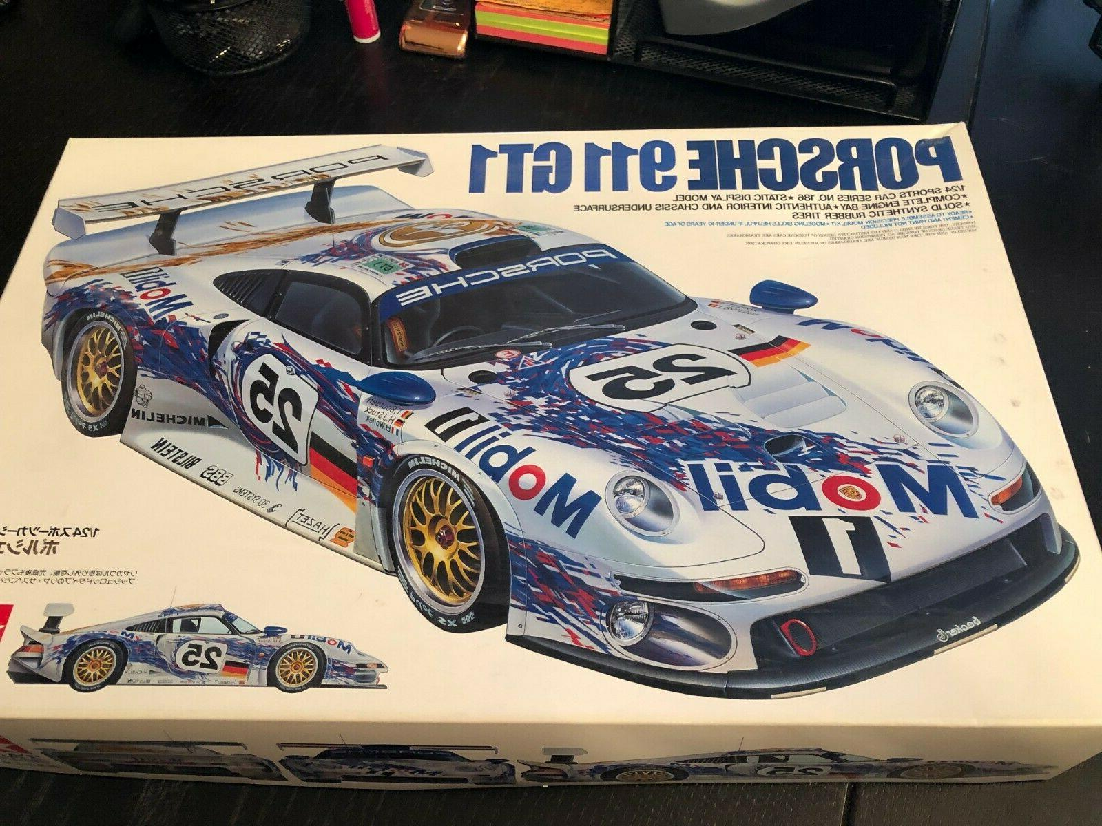 1 24 porsche 911 gt1 car model