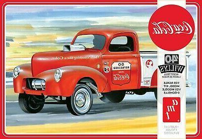 1 25 40 willys pickup truck coca