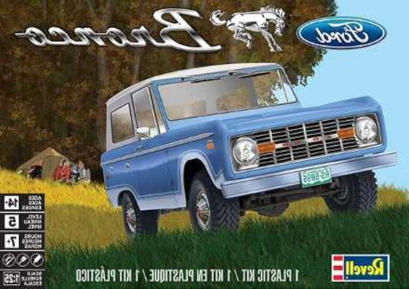 1 25 ford bronco plastic