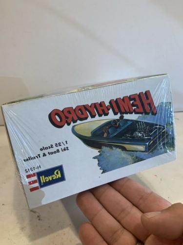 Revell Hemi Speed Boat Sealed Not Model Kit Case Fresh