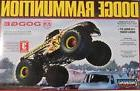 """LINDBERG 1/25 """"RAMMUNITION"""" Dodge Monster Truck  Model Kit N"""
