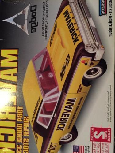 Lindberg Maverick 1964 Dodge Stock 72174