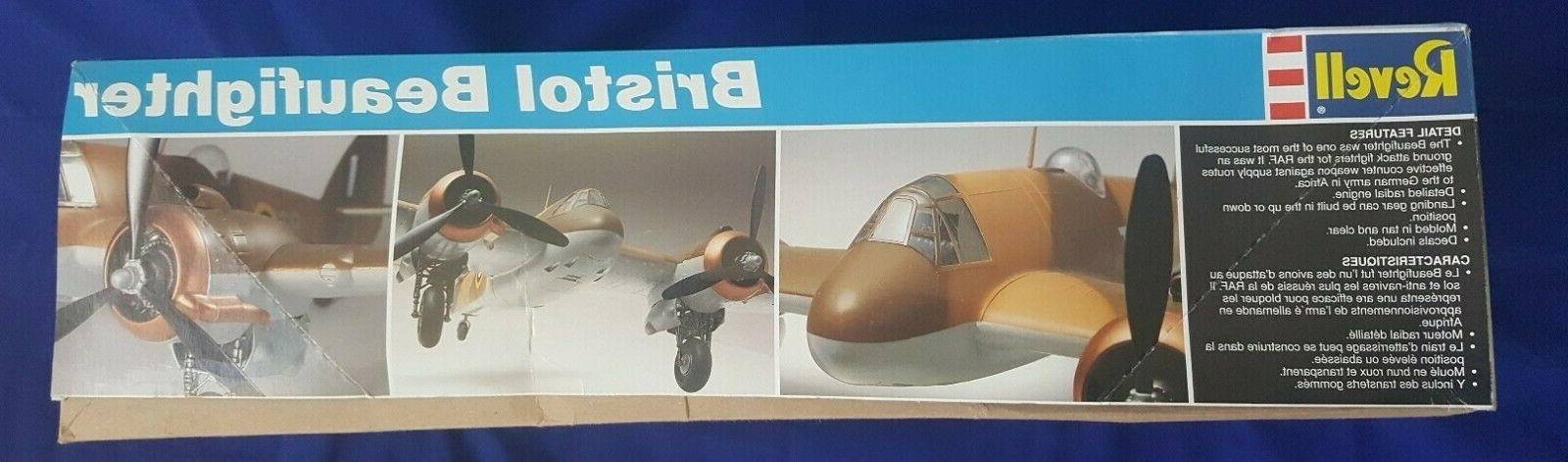 1/32 BRISTOL BEAUFIGHTER Model 1994 Level 112 pieces