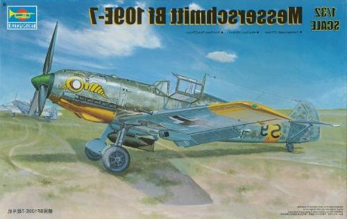 1 32 messerschmitt bf109e7 german