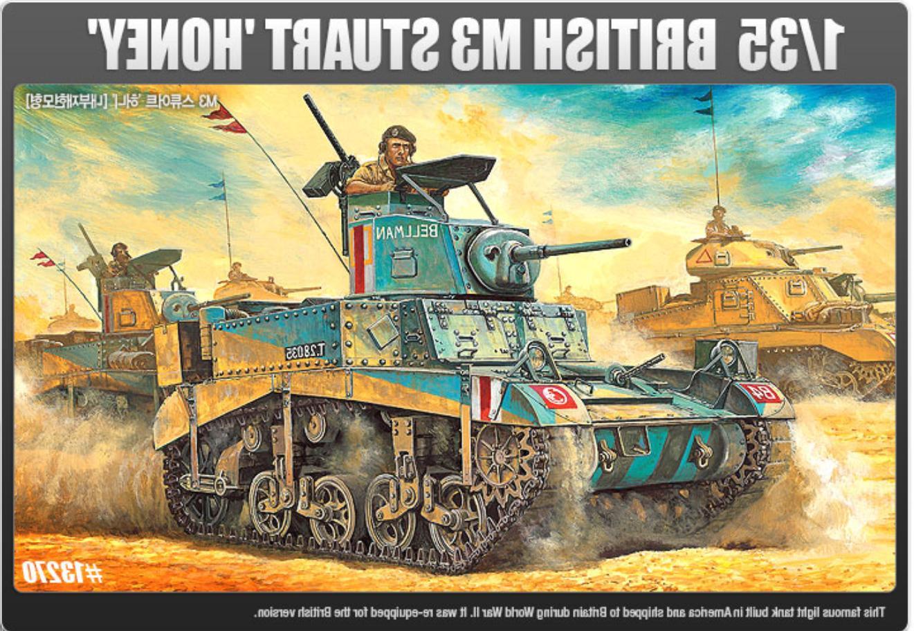 1/35 M3 Stuart Honey