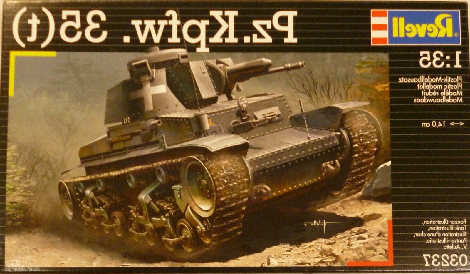 Revell 1/35 Pz Kpfzfw 35  German Tank Panzer Model Kit 3237