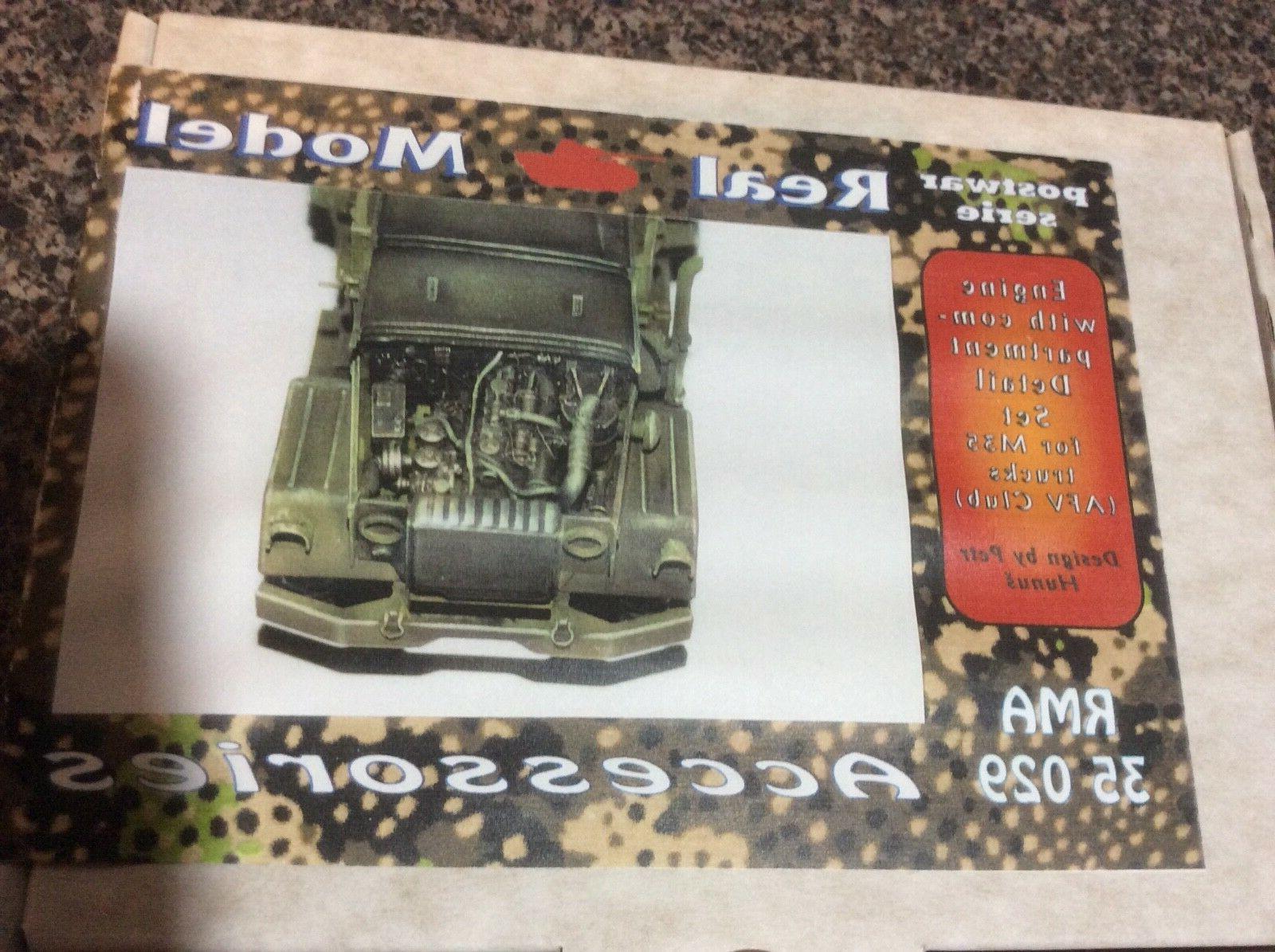 1/35 Real Model Engine Set For US M 35 Truck AFV Club Kit RM