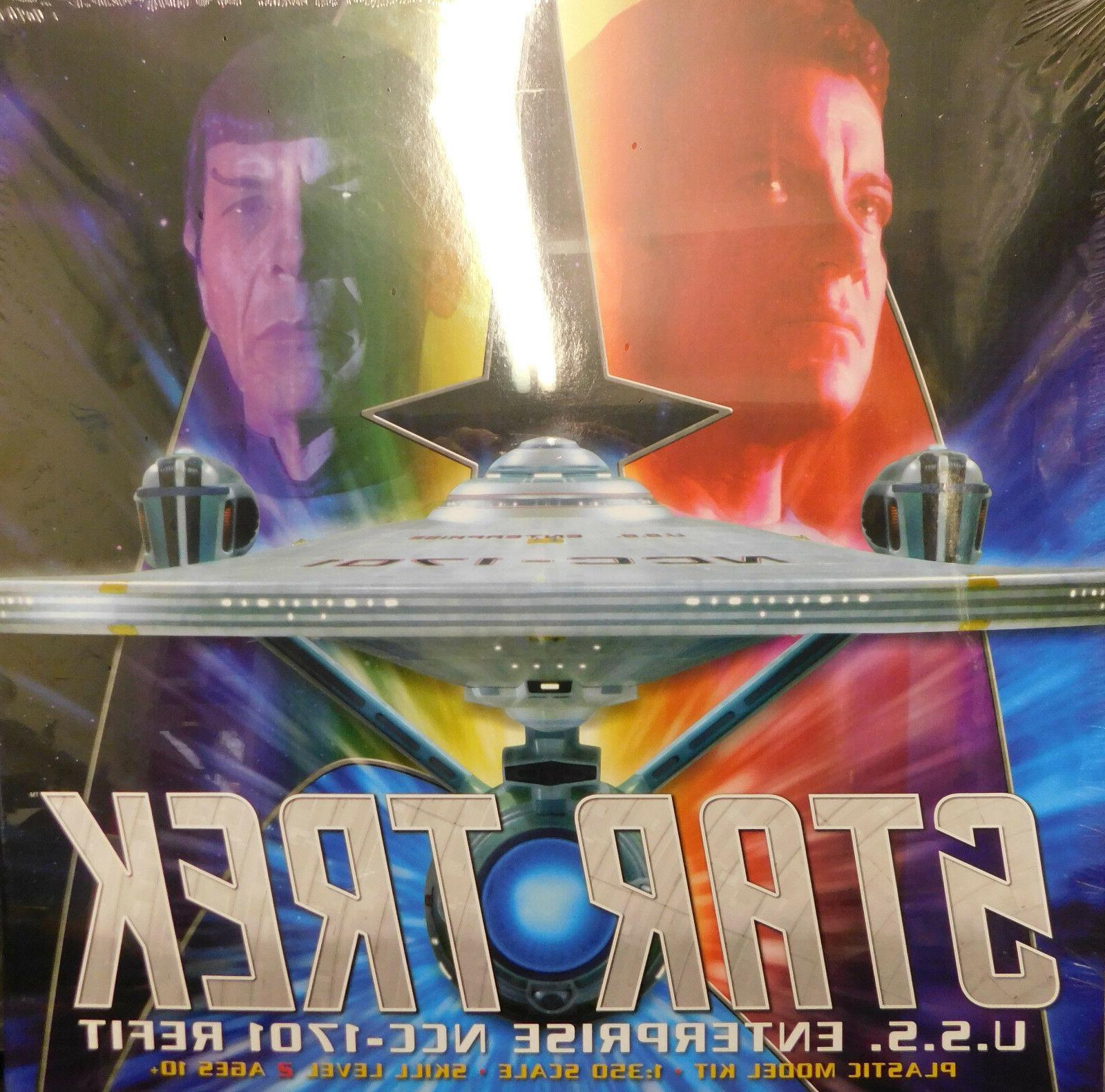 Polar Lights 1/350 Star Trek USS Enterprise REFIT Plastic Mo