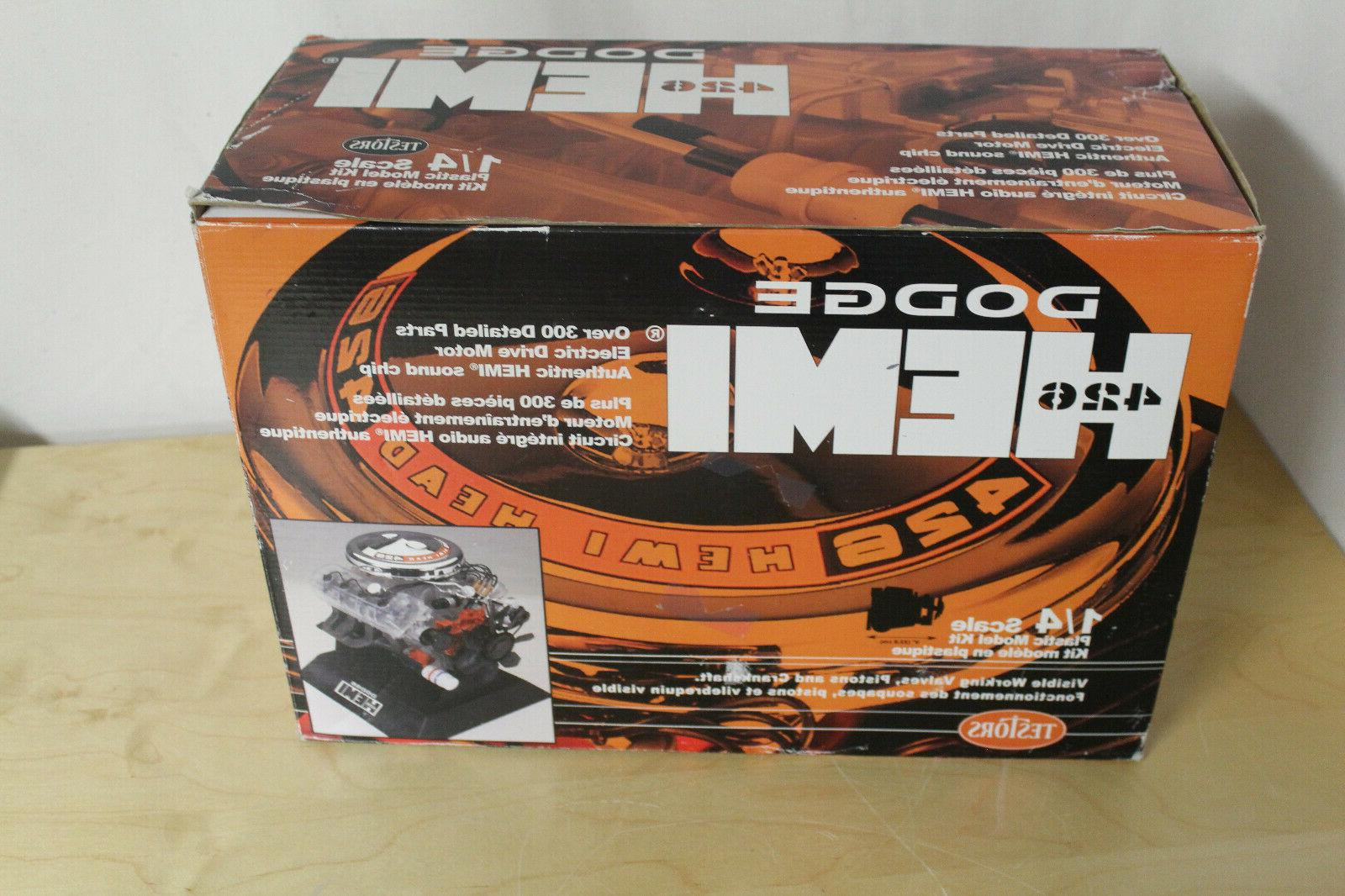 1 4 scale dodge hemi 426 running