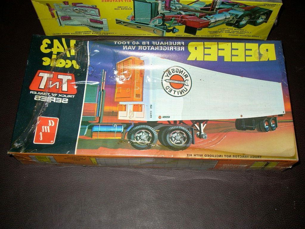 AMT K123 CABOVER TRACTOR MODEL REEFER SEALED