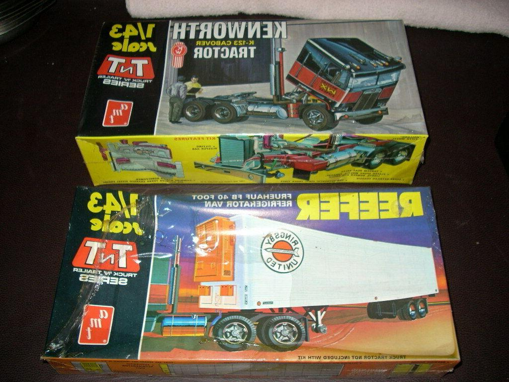 1 43 scale kenworth k123 cabover tractor