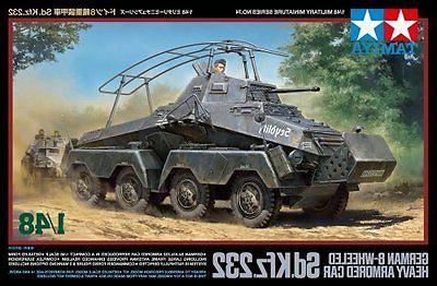 TAMIYA 1/48 Heavy Armored Car Model Kit