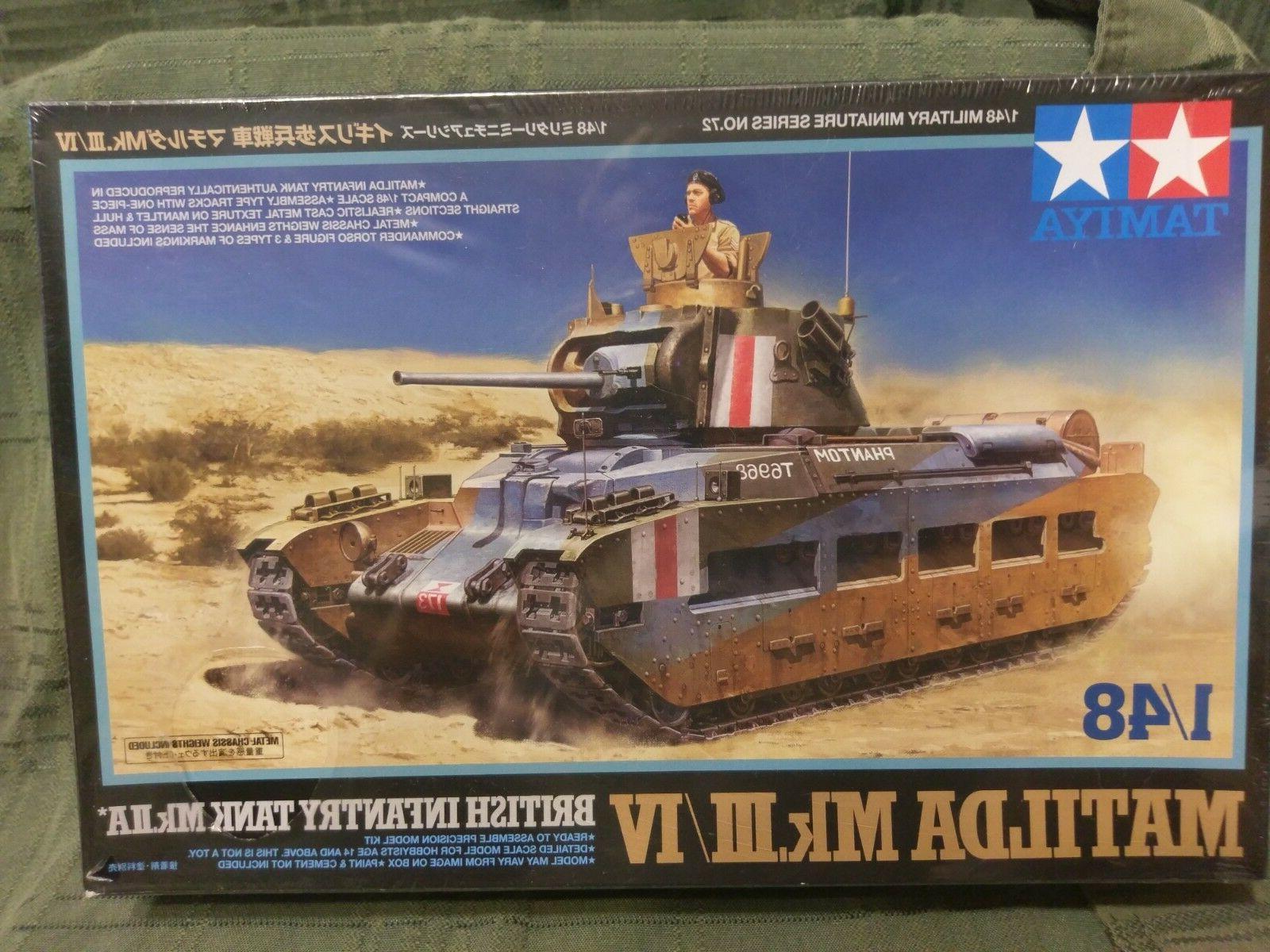 1 48 matilda british tank new model