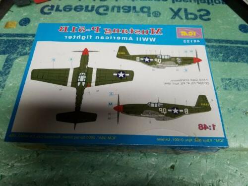 ICM 1:48 Mustang WWII American Model Kit #48122