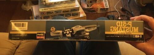 Hasegawa 1:48 D Mustang USAAF Plastic Model Kit #J14