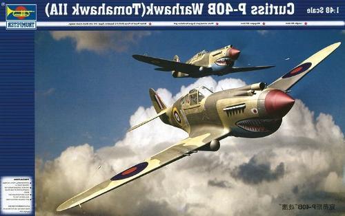 1 48 p40b warhawk fighter