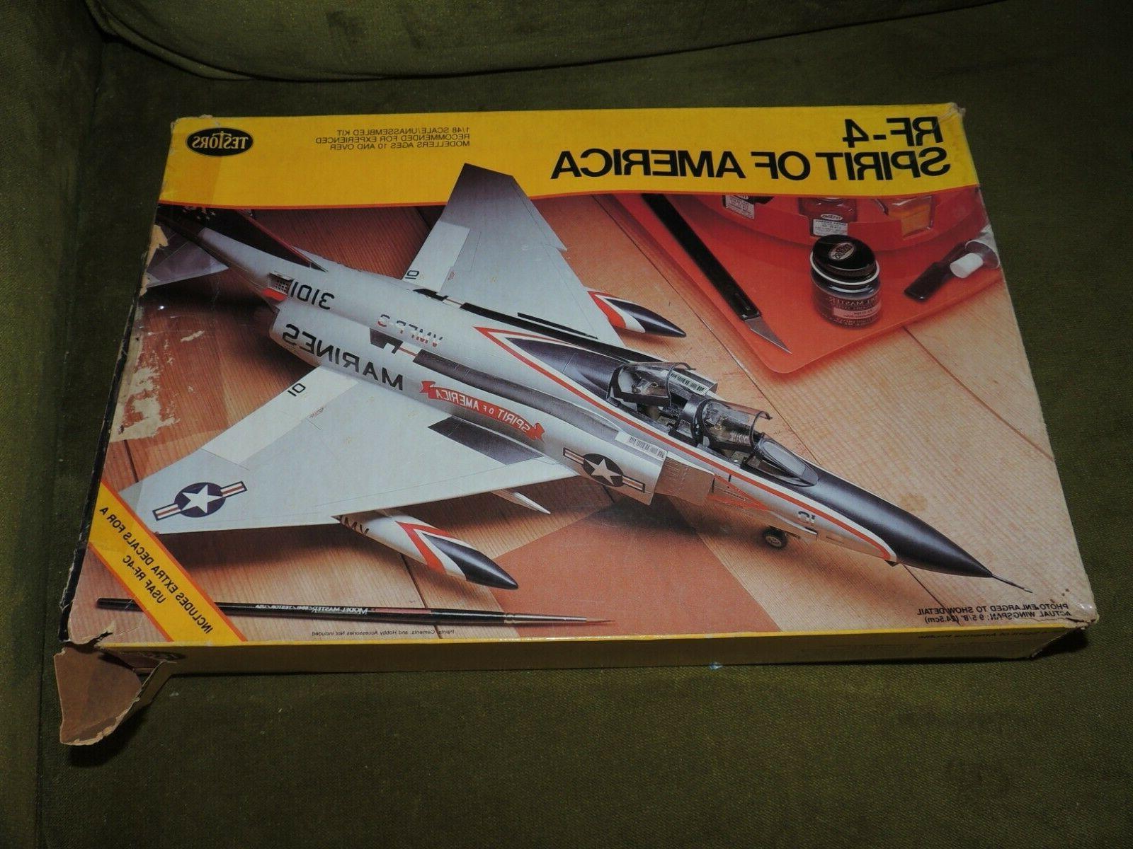 Testors 1:48 RF-4 of America Model Kit